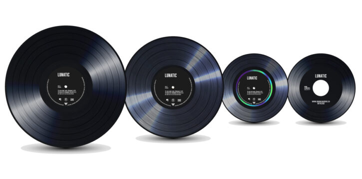 lunatic header vinyl formate